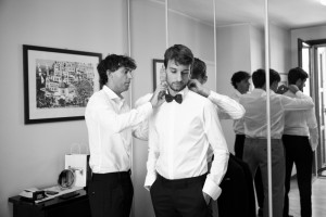 wedding - getting ready